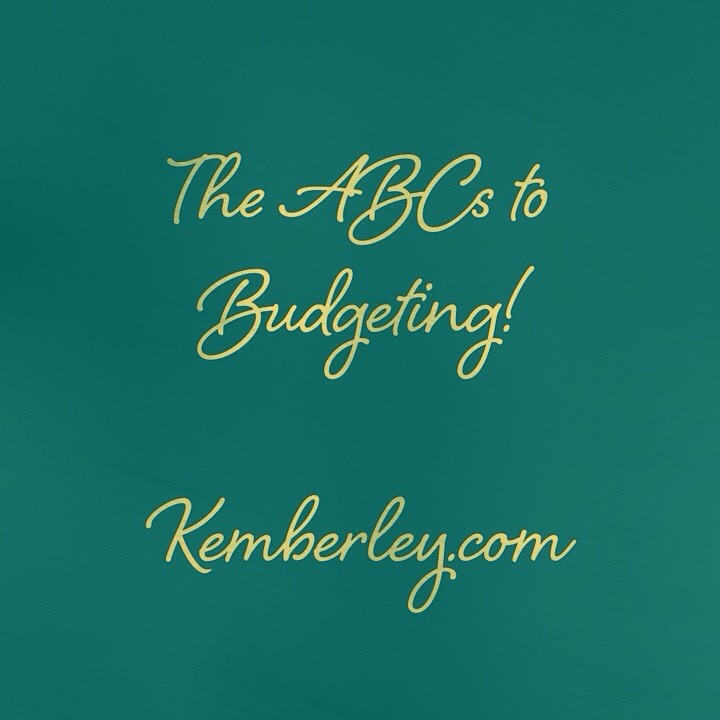 how to make your budget simple kemberley com